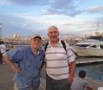 Jon & Dick on the waterfront
